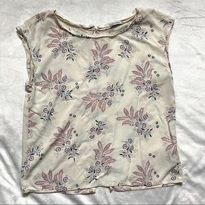 Abercrombie & Fitch floral top